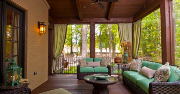 images of screened patio decorating ideas | Best Screened in Porch ...