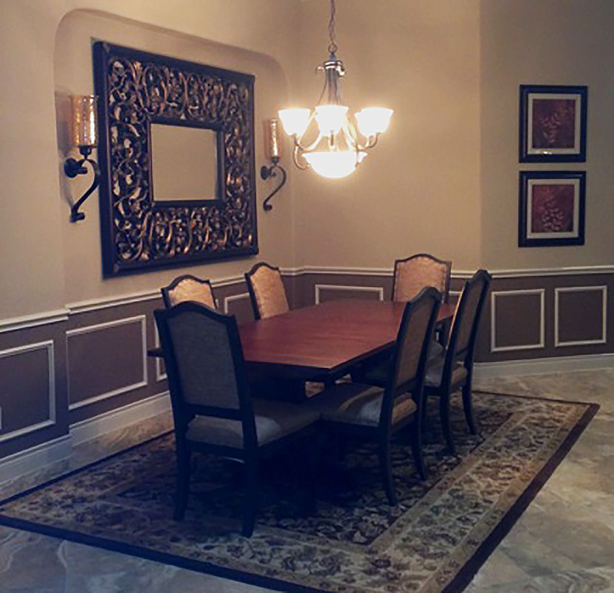 Dining Room And Interior Design By Lucia Gentry Of Star Furniture, Webster,  TX.
