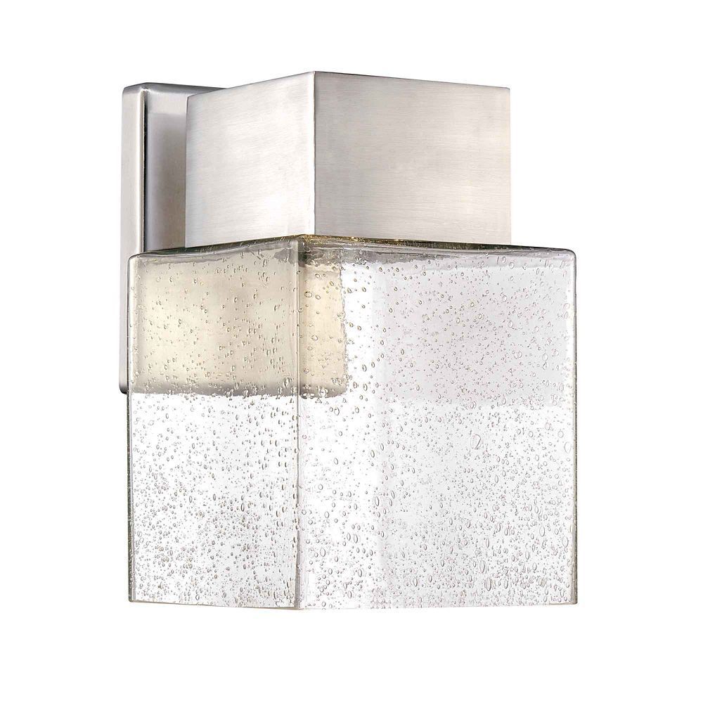Livex Lighting Westover 2 Light Brushed Nickel Outdoor Wall Lantern Sconce 2281 91 The Home Depot Outdoor Wall Lantern Wall Lantern Outdoor Wall Lighting