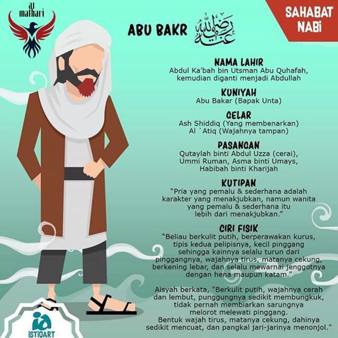 Al Mathari Poster Islam Khulafa Ur Rasyidiin Kutipan Pelajaran Hidup Sahabat Pendidikan