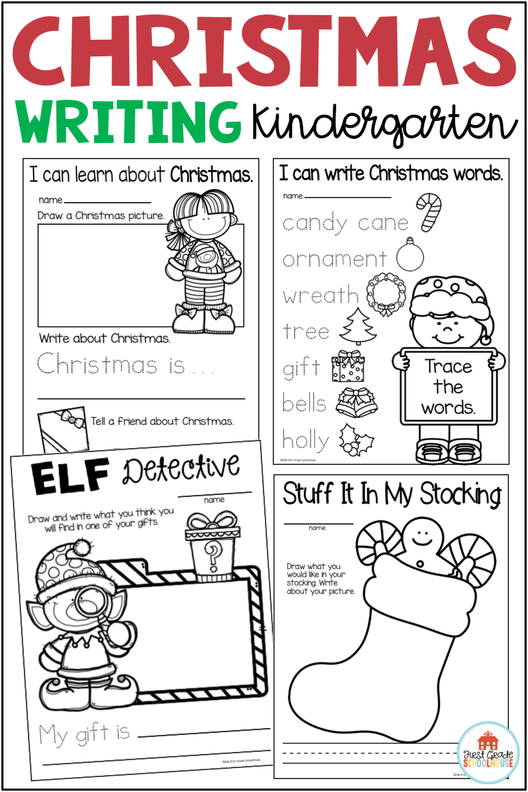Looking For Fun Christmas Writing Ideas For Kids In Kindergarten And For Homeschool Christmas Writing Kindergarten Christmas Writing Christmas Writing Prompts [ 1152 x 768 Pixel ]