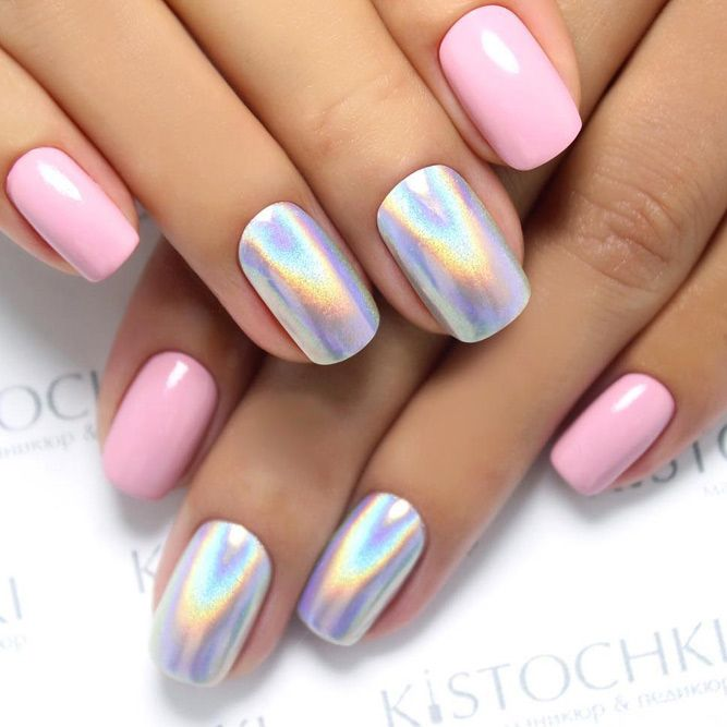24 Chrome Nails Design The Newest Manicure Trend Hair Beauty