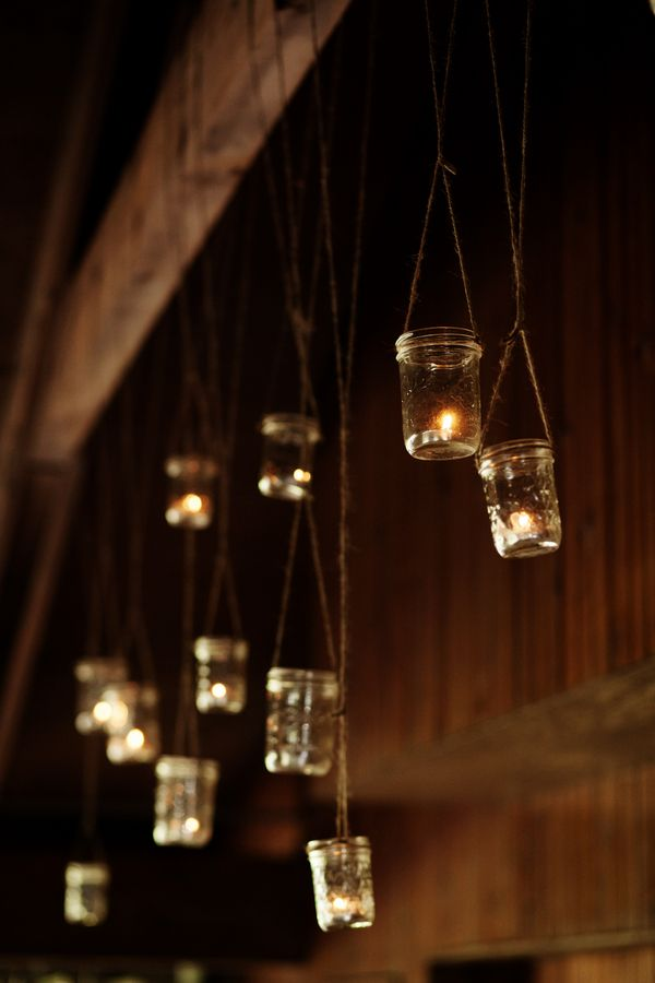 Hanging Mason Jar Votives   Someday My Prince Will Come ...