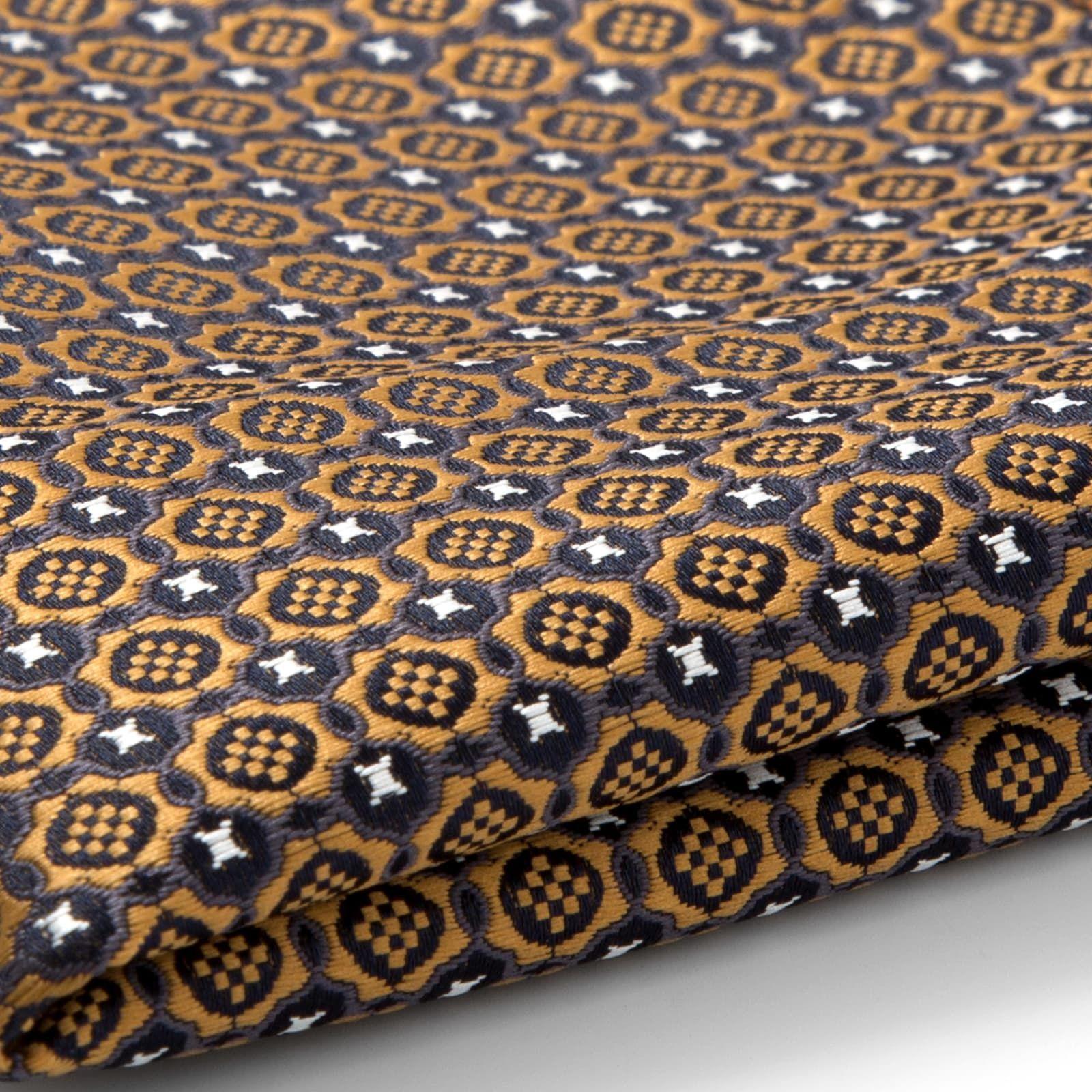 Photo of Gold Tapestry Pocket Square | In stock! | Tailor Toki