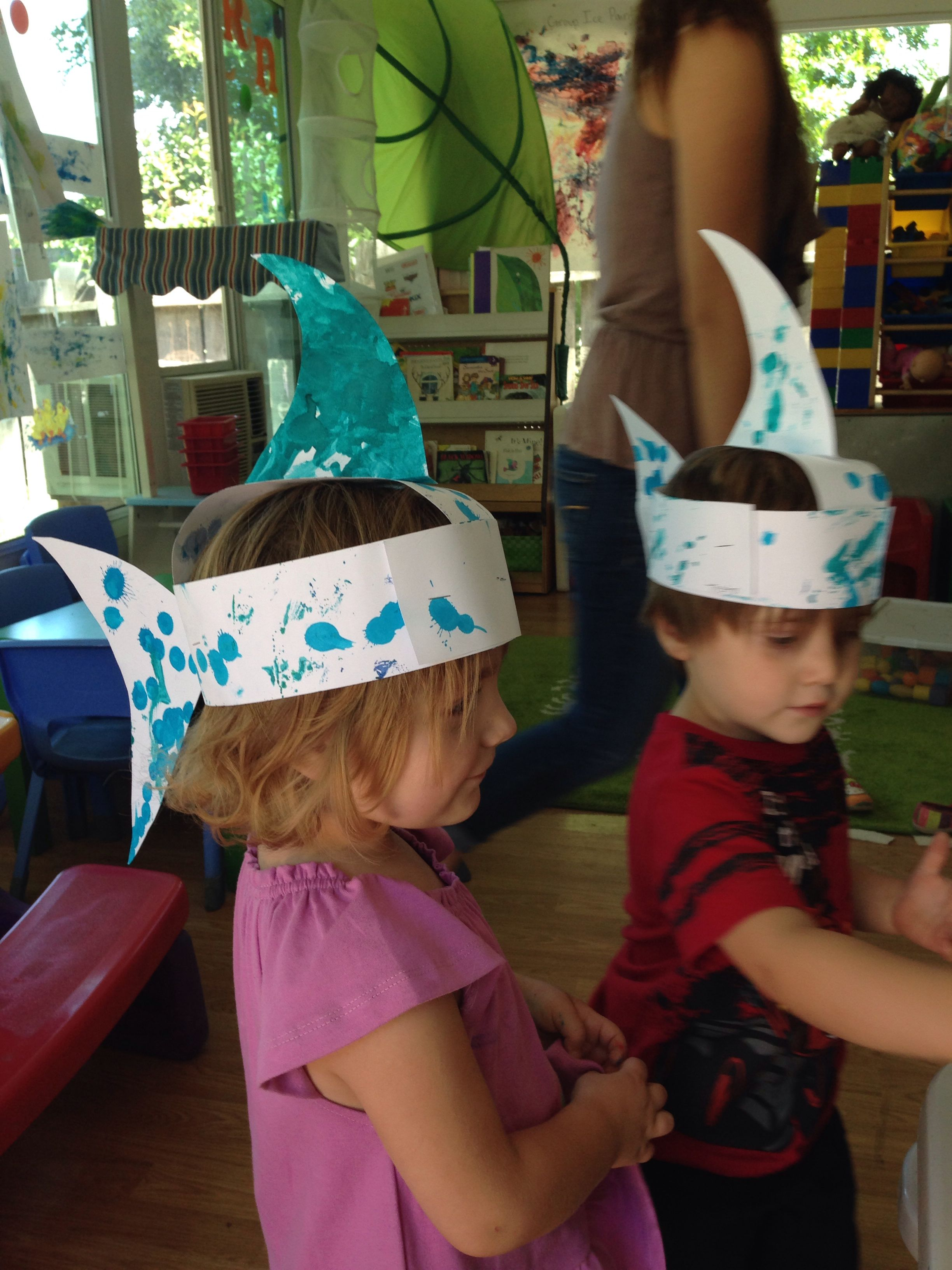 Our Shark Hats