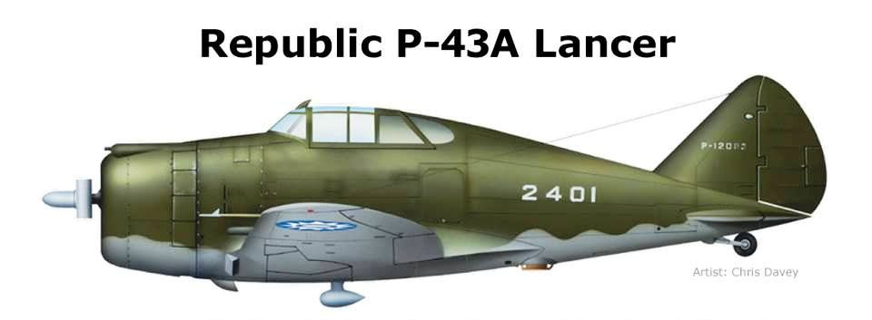 P-43A Lancer Chinese Air Force 1942 | Color profiles WWII ALLIED