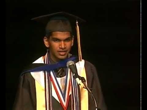 Perfect SAT Score Student Dumps Girlfriend in Graduation Speech - graduation speech
