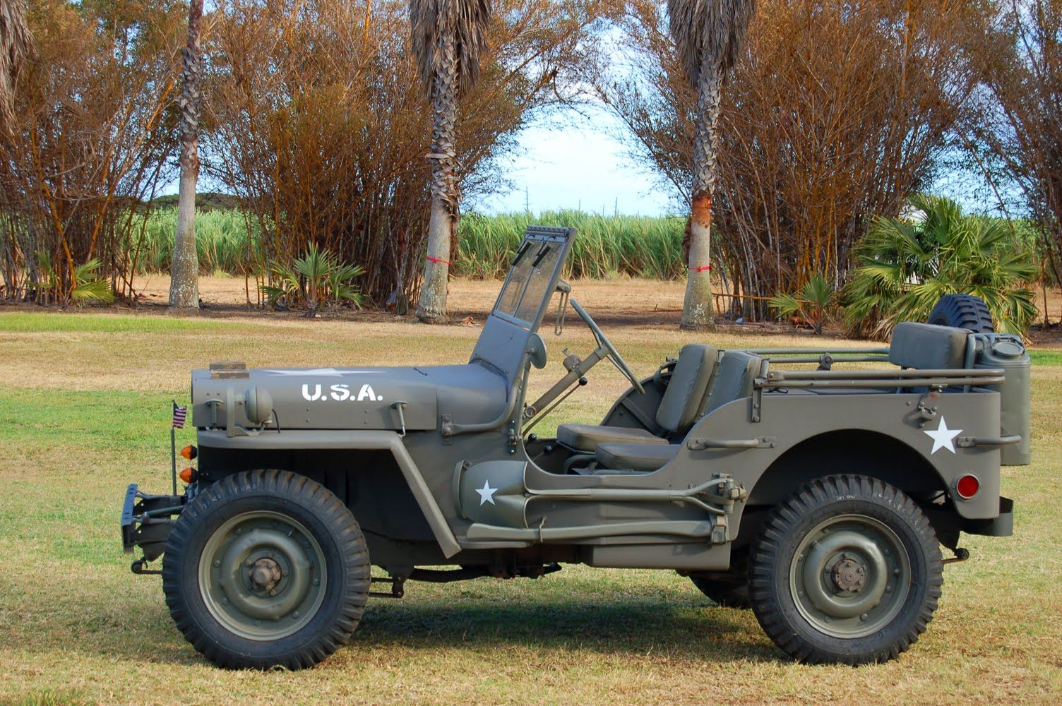 U.S. Willy's Jeep Had one of these for awhile in Okinawa and again