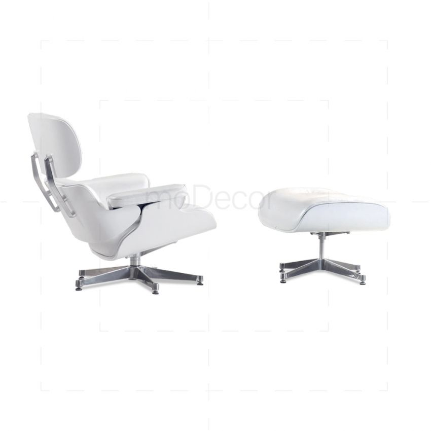 White Ash Eames Lounge Chair   Charles And Ray Eames Grab This Furniture In  Miniature Version