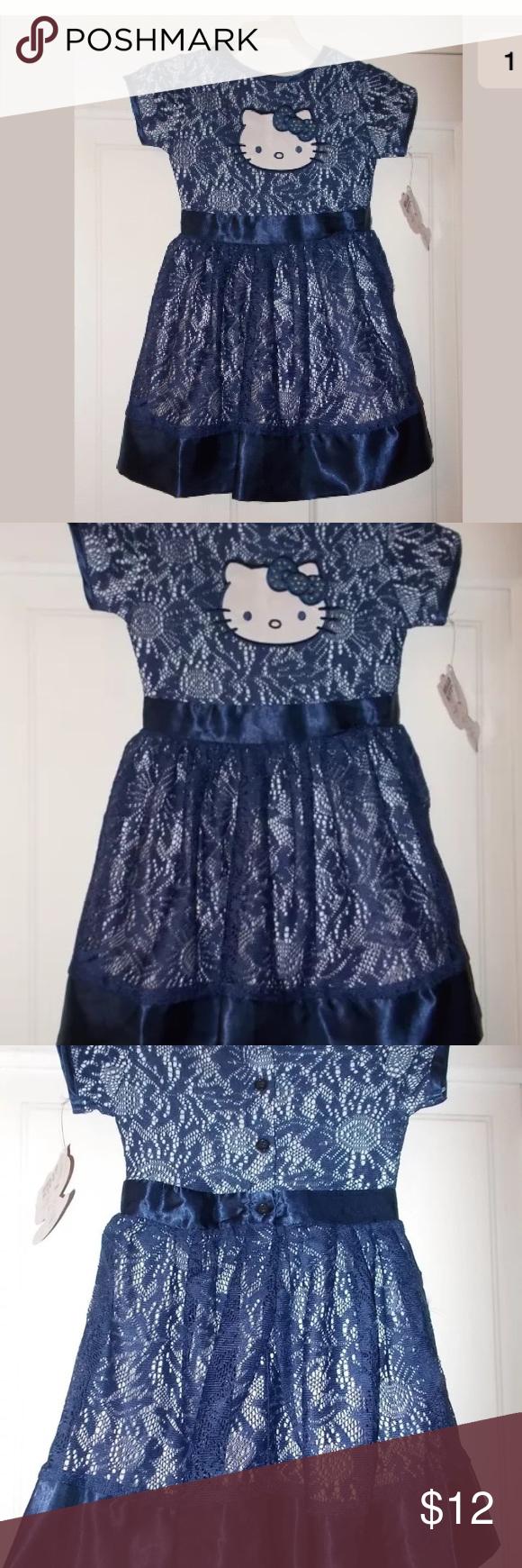 f0992e4aa Girls size 4/5 Hello Kitty Lace Dress Girls size 4/5 hello kitty ...