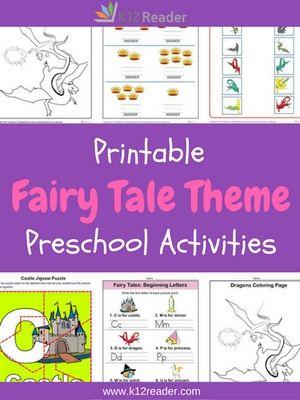 fairy tales preschool theme activities k12 fairy tale activities fairy tale crafts fairy. Black Bedroom Furniture Sets. Home Design Ideas