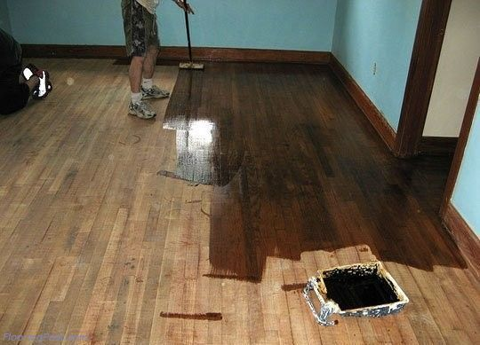 Delicieux Refinishing 100 Yr Old White Pine Floor (subfloor, Paint, Living Room,  Kitchen)   House