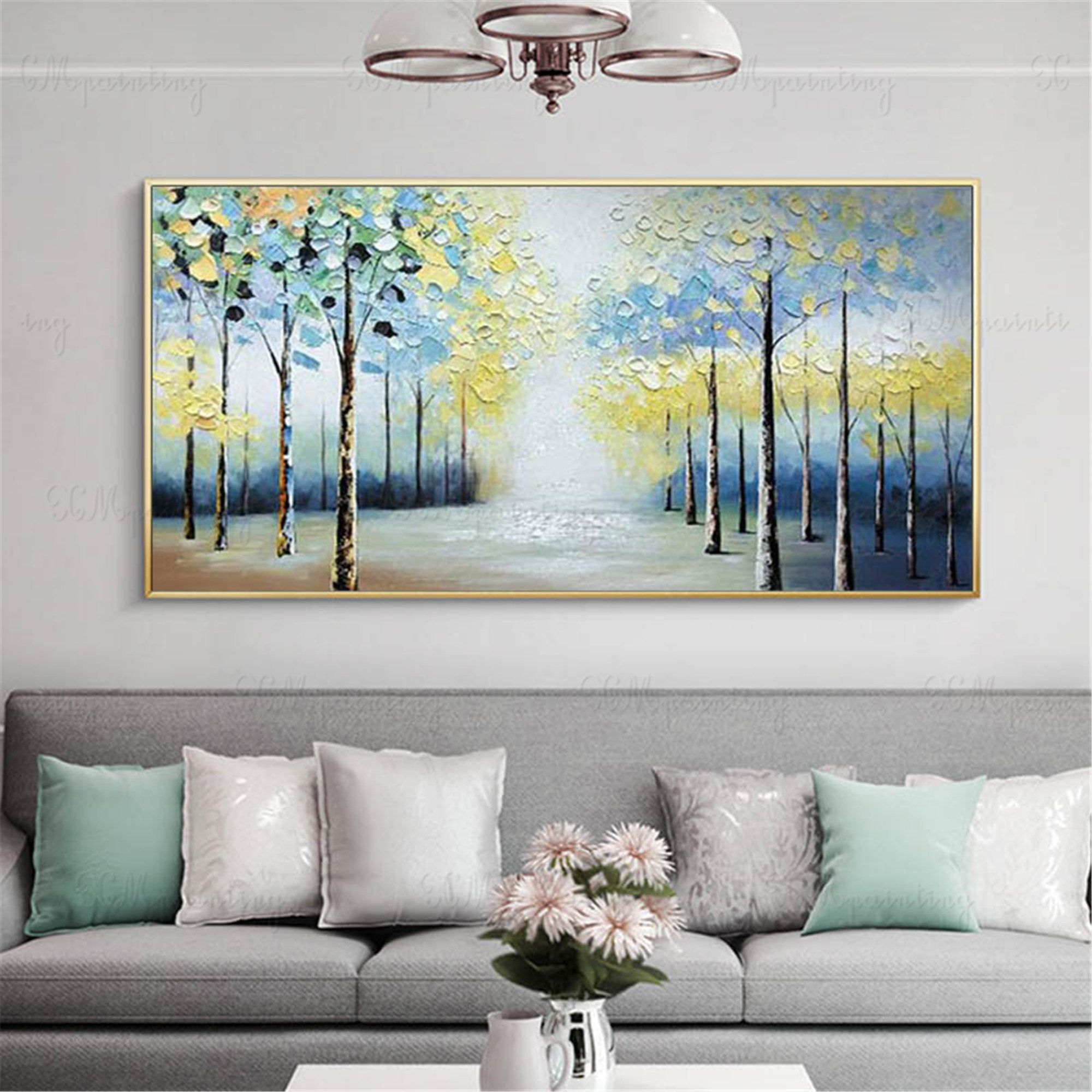 Abstract Paintings Canvas Wall Art Pictures For Living Room Etsy Canvas Wall Art Living Room Abstract Canvas Painting Wall Canvas