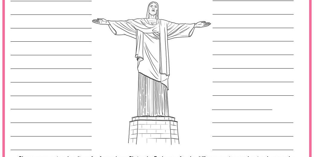 Six differentiated activities to find out facts about Christ the Redeemer.