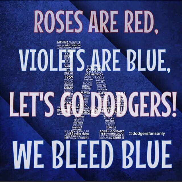 Dodger Quotes | Bleed Blue Dodgers Fans La Dodgers Everything Dodgers