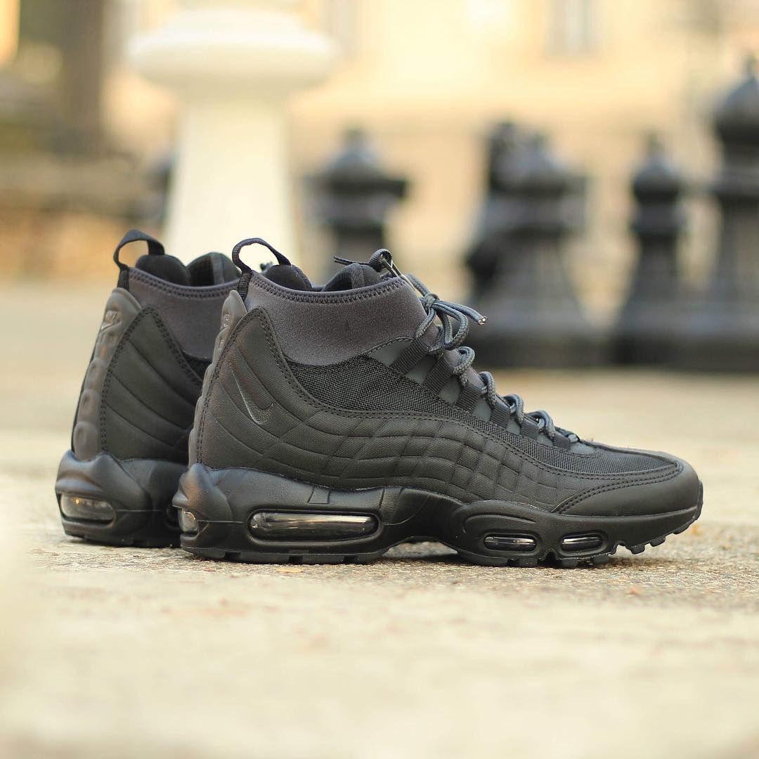 Nike Air Max 95 Sneakerboot (Black Out) Sneaker Freaker