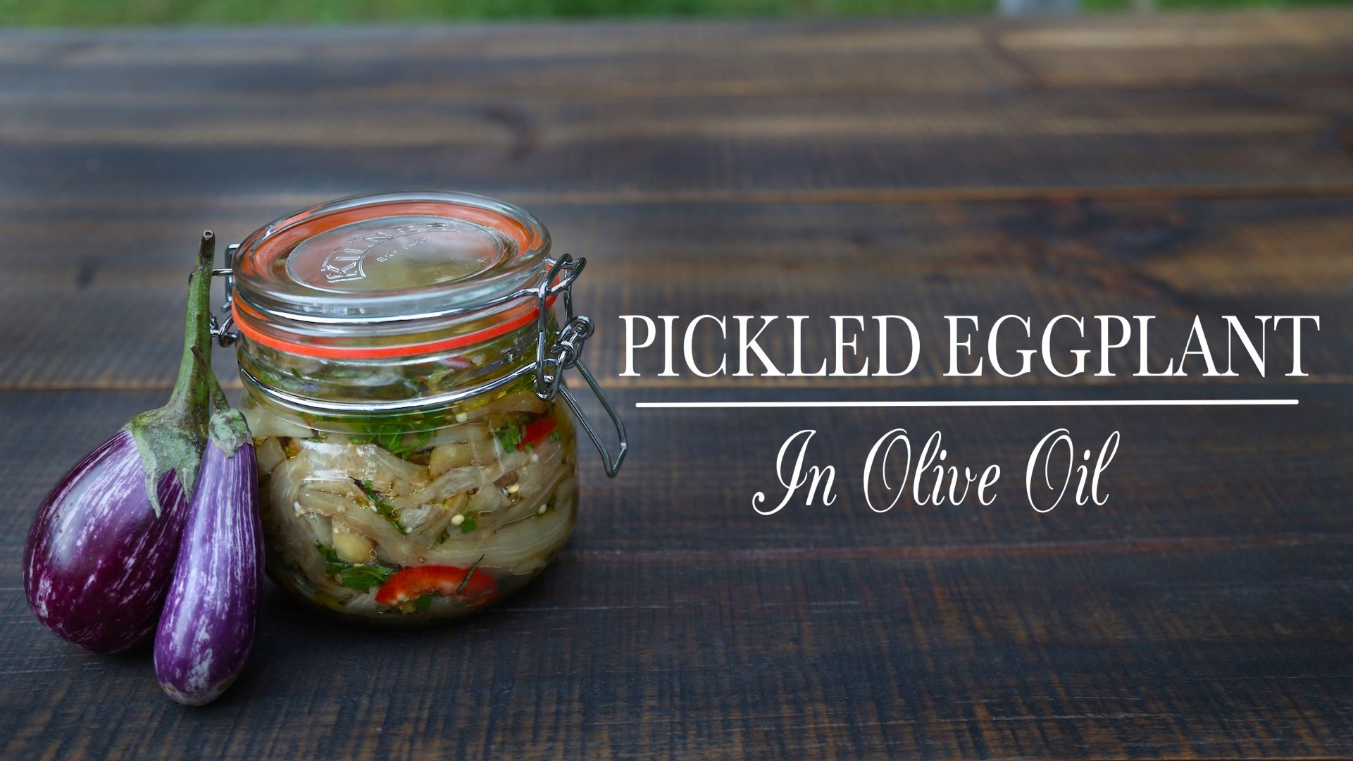 Pickled Eggplant is a traditional Italian recipe with a variety of preparation methods. Watch online: Pickled Eggplant from Kitchen Vignettes. On demand, streaming video from KTXT