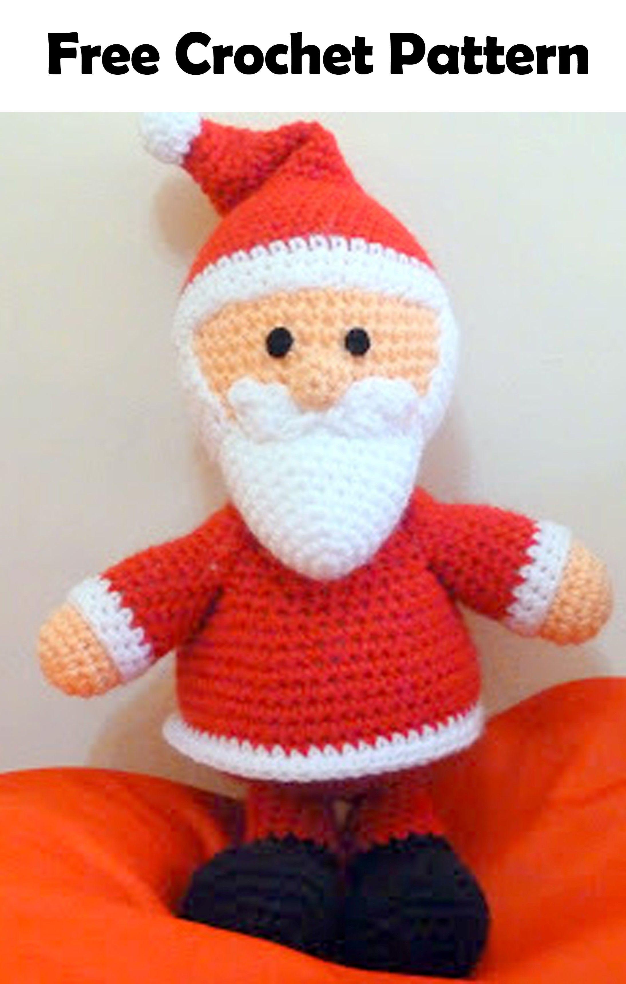 19 Free Amigurumi Christmas Santa Crochet Patterns Amigurumi