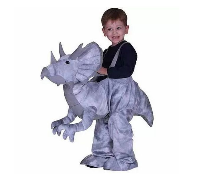 Gray Dino Rider Toddler Halloween Costume SIZE 2T/3T NEW DINOSAUR  sc 1 st  Pinterest : costumes toddlers  - Germanpascual.Com