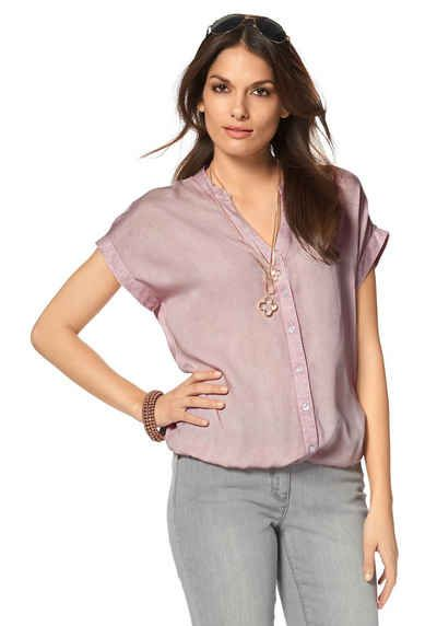 delicate colors first look 50% off Tamaris Schlupfbluse | Fashion.....Otto | Tunic tops ...