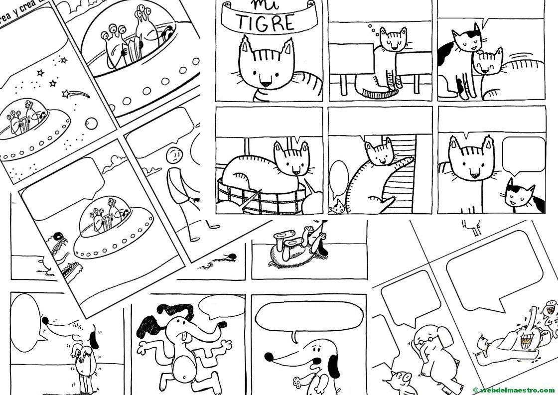Cómo hacer un cómic | Variado | Pinterest | Material didactico para ...