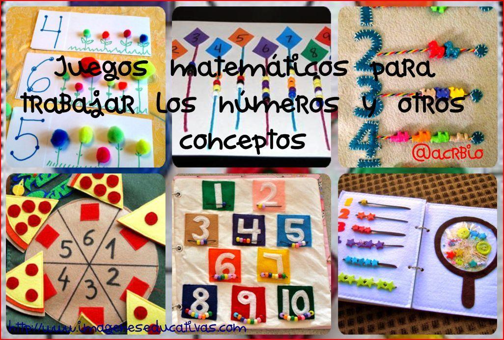 Juegos matem ticos para trabajar los n meros y otros for Actividades de jardin de infantes