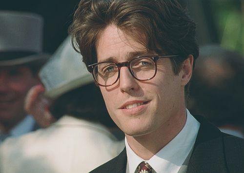 hugh grant if you don t think he s adorable you re wrong my
