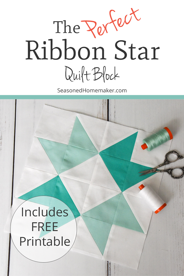 How to Make a Perfect Ribbon Star Quilt Block