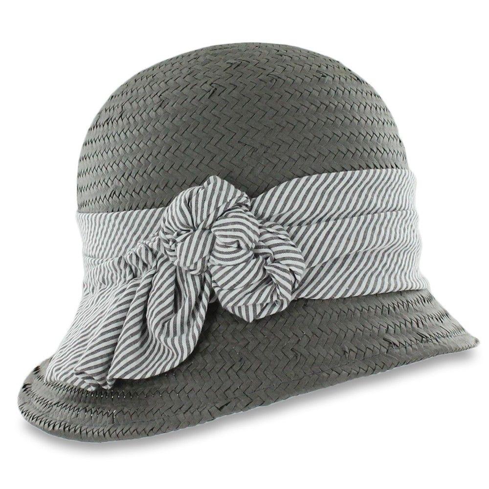 461510257aa Belfry Gigi - Toyo Seersucker Cloche Hats In The Belfry