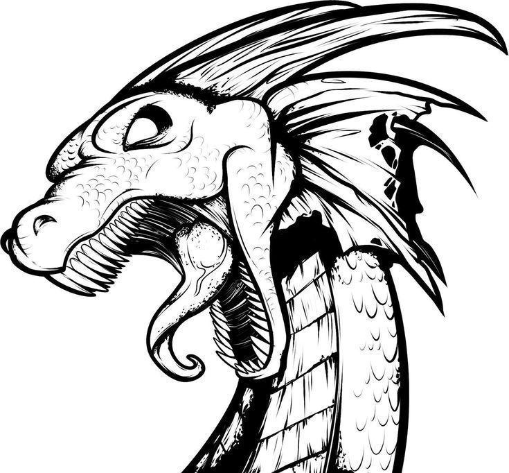 Photo of Tattoos für Männer Designs Zeichnungen 60 Awesome Dragon Tattoo Designs für M…