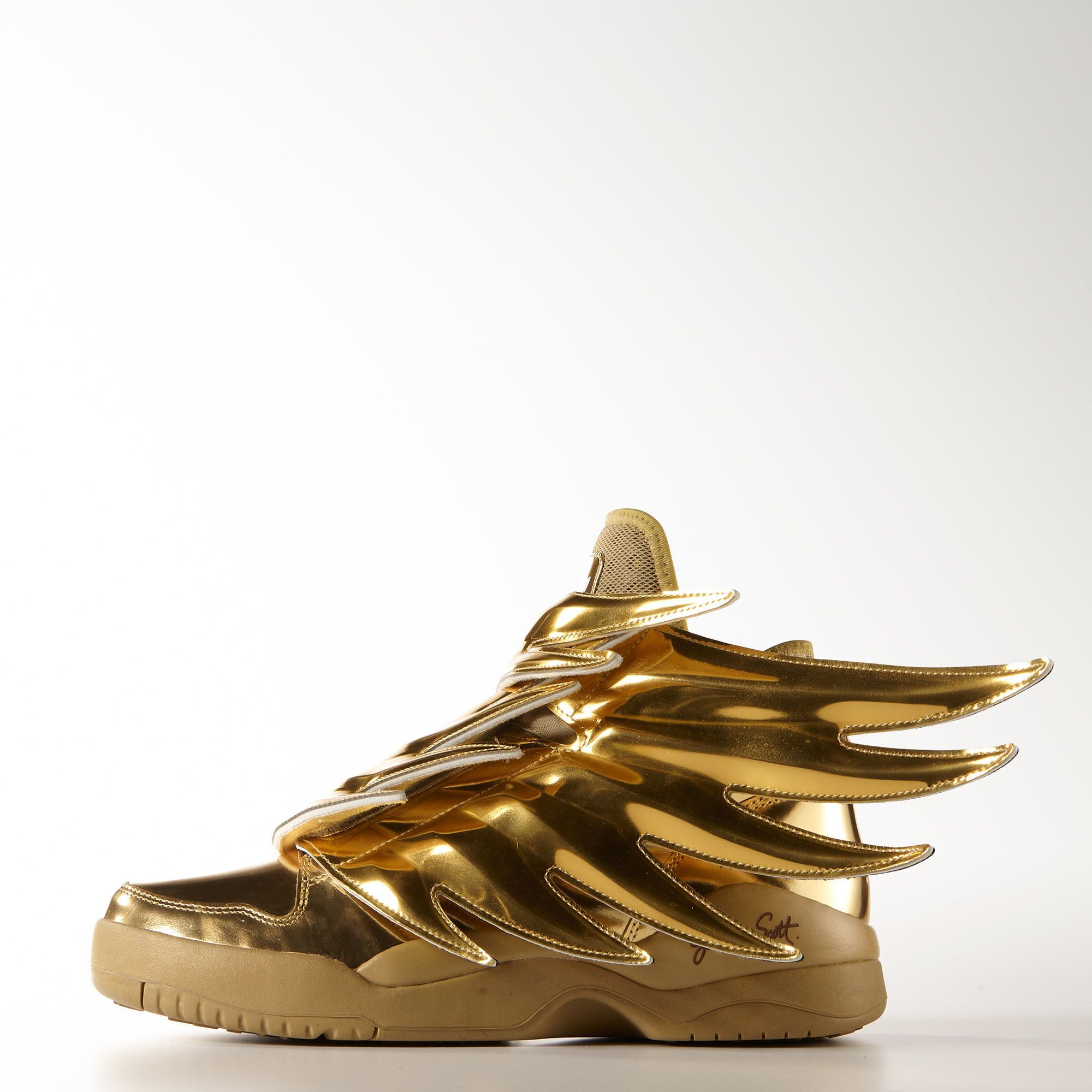 adidas jeremy scott wings 3 gold