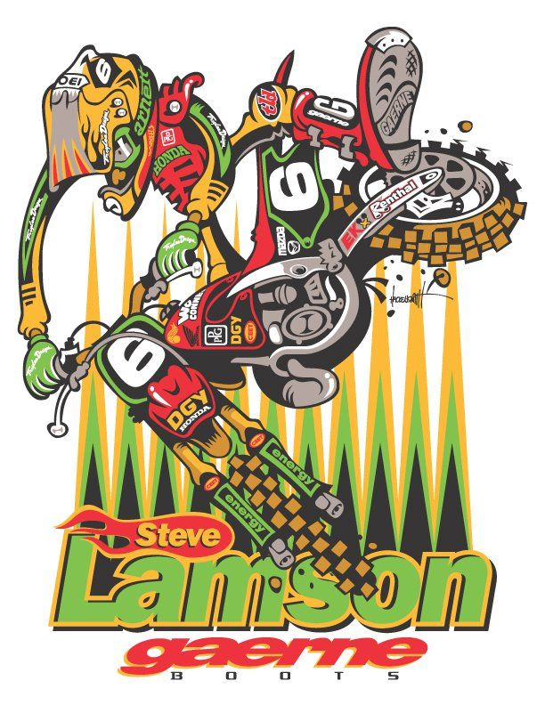 Motocross Cartoons Motocross Tracks Locator สายฝุ่น