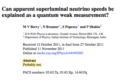 The Shortest Science Paper Ever Published Had No Words And Was Utterly Brilliant Journal Of Physics Science Physics Department