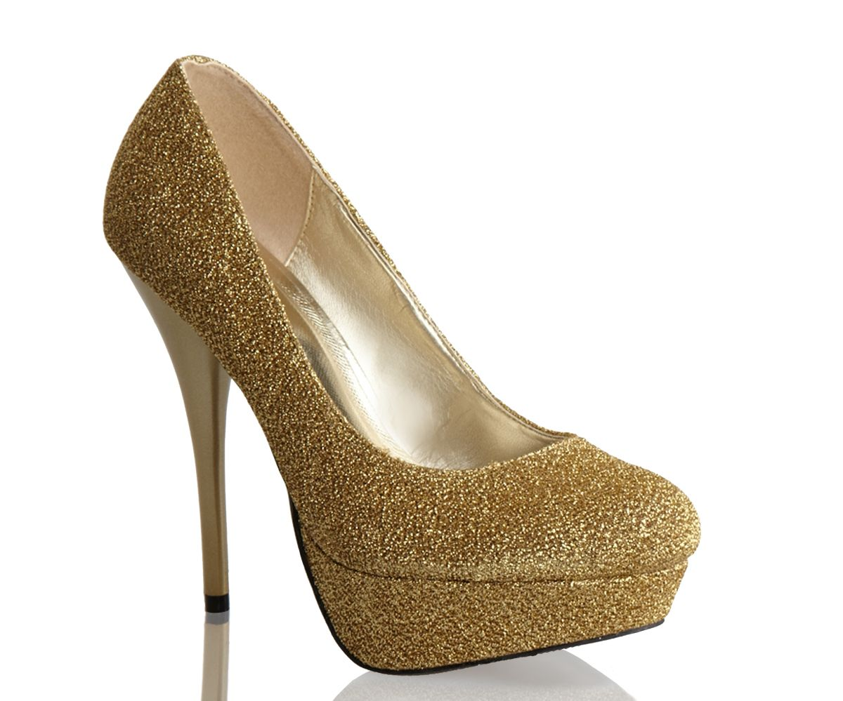 Black And Gold Homecoming Shoes