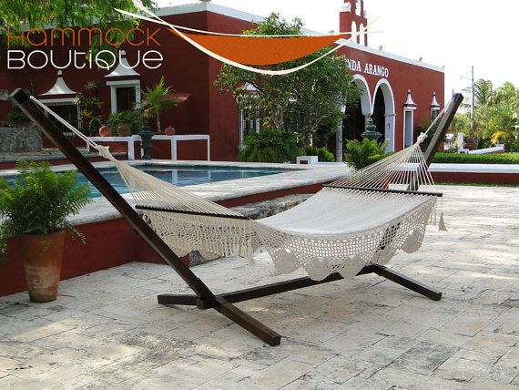 hammock with stand  american deluxe 100 cotton by hammockboutique hammock with stand  american deluxe 100 cotton by hammockboutique      rh   pinterest