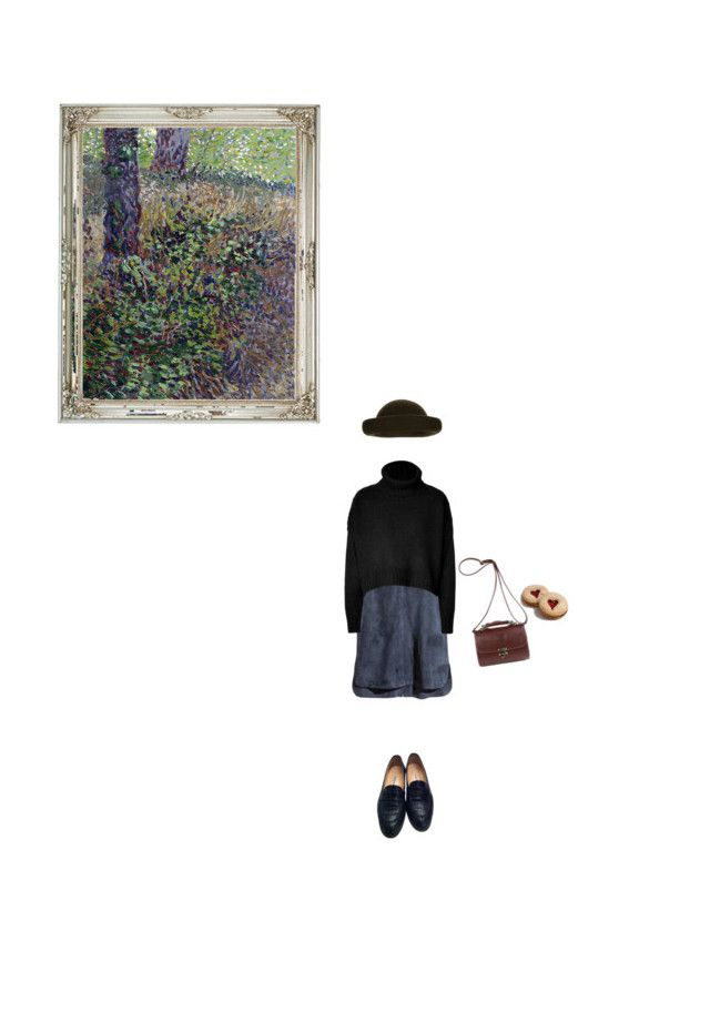 """""""Forground"""" by flyingmonkeys1995 ❤ liked on Polyvore featuring H&M, Tara Jarmon and Manolo Blahnik"""