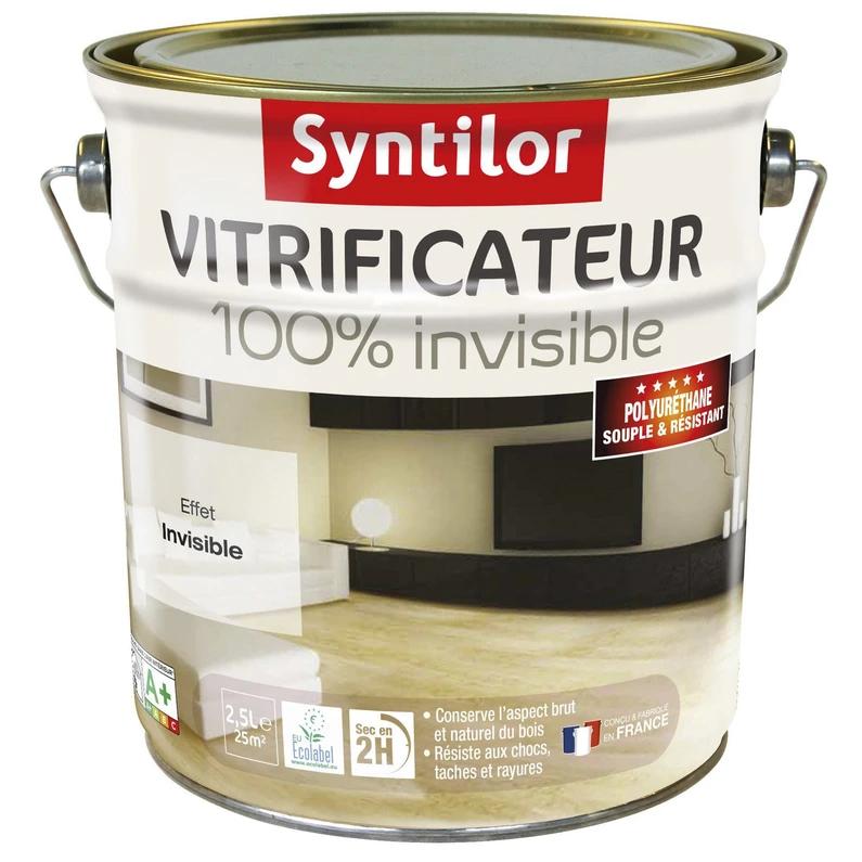 Vitrificateur Parquet 100 Invisible Syntilor 2 5 L Incolore Parquet Castorama Bois