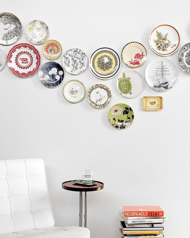 How To Use Plates To Decorate. Plate Wall DecorWall ...