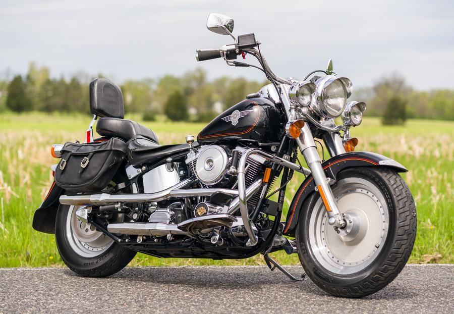 Pin On Harley Fatboy