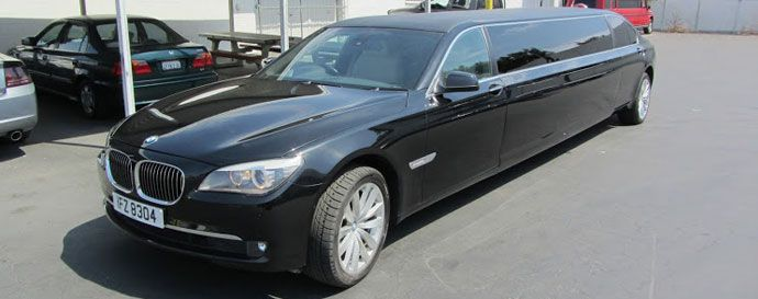Bmw 750 Stretch Limo Rental At Global Limos Limos