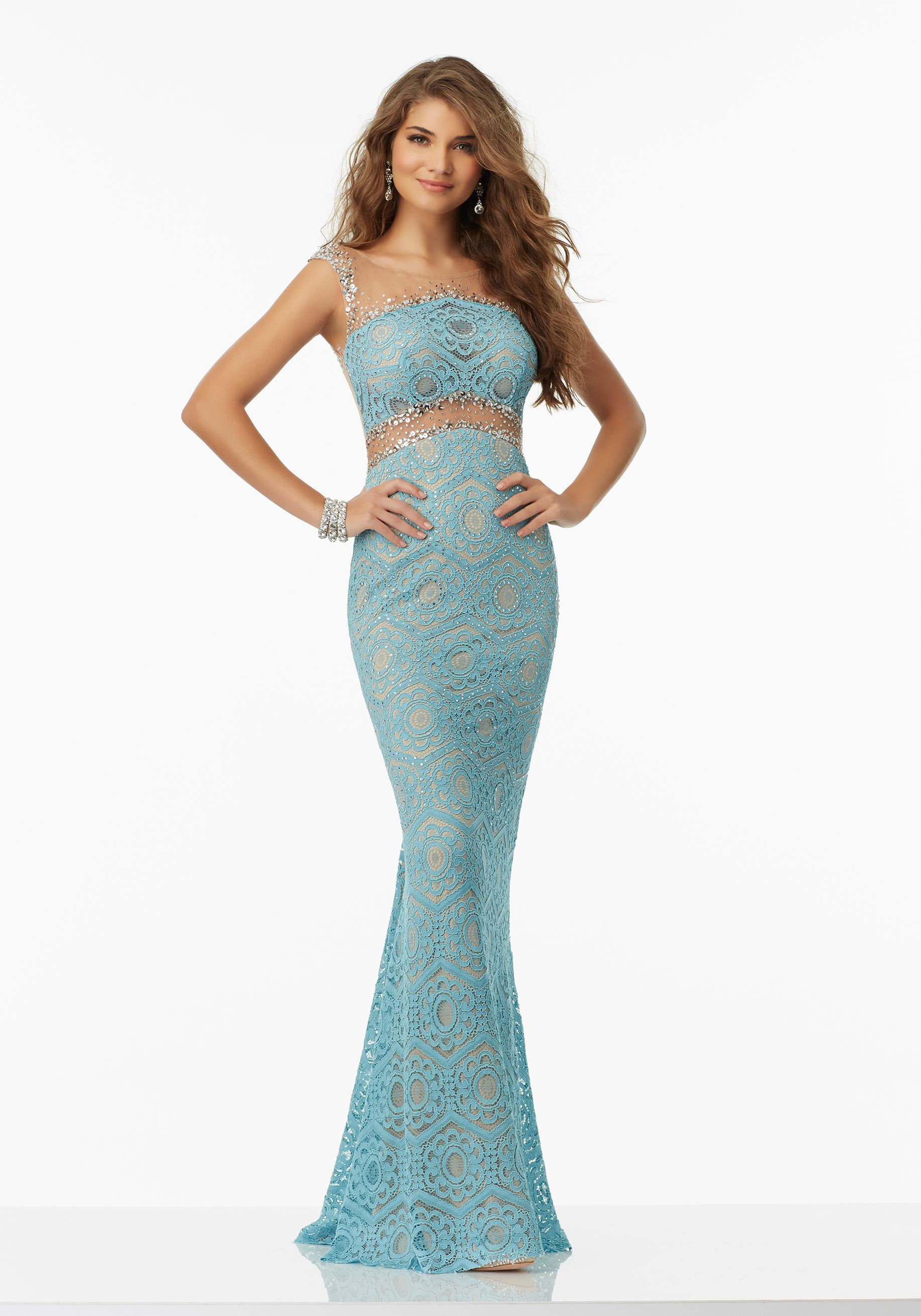 Prom Dresses by Morilee designed by Madeline Gardner. Lace Prom ...