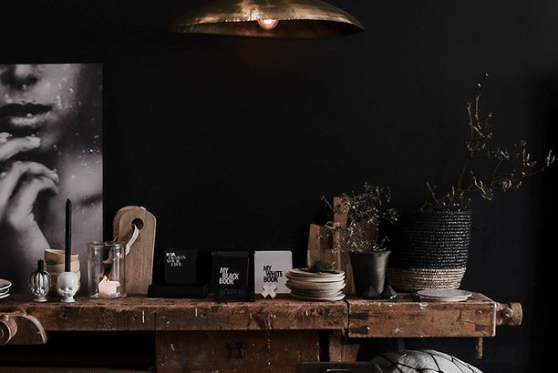 Norvège / Kamelone, boutique de décoration /