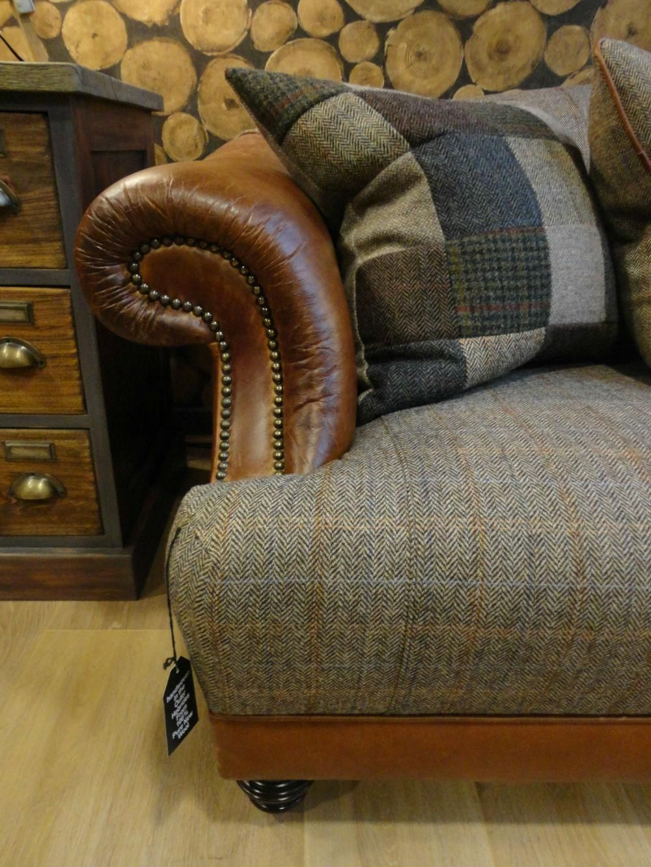 Tetrad Harris Tweed Taransay Sofa Collection Bracken From