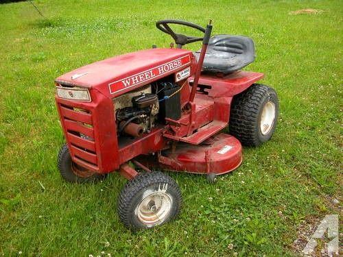 Mini Wheel Horse Tractor : Wheel horse a ranger vintage garden tractor