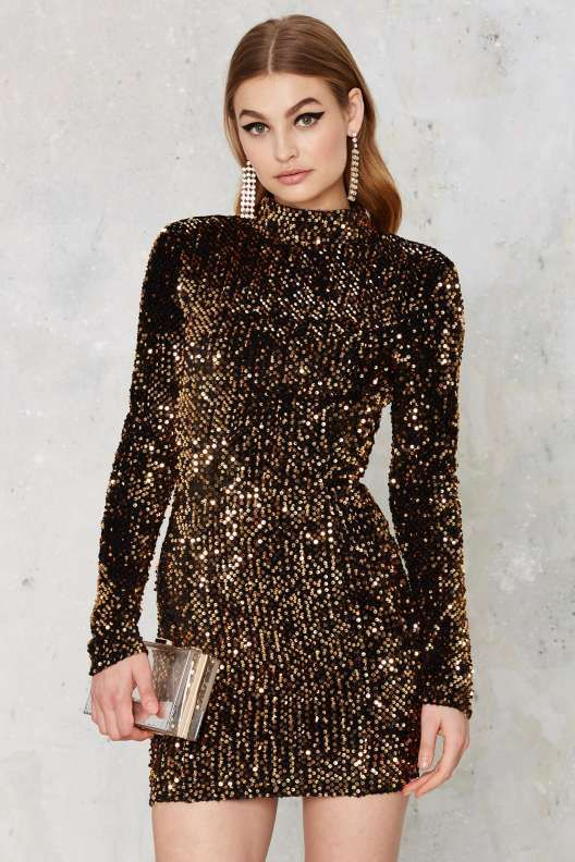Mirage Sequin Mini Dress