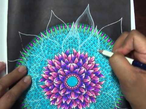 Coloring Book Tips Tricks Easy How To Make Translucent Petal Effects Color Pencil Art Coloring Books Color Pencil Drawing