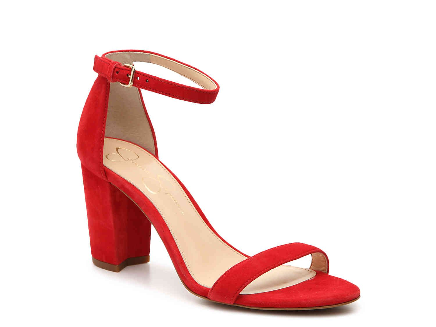 8f21678891b Monrae Sandal is the perfect red heel for a night out on Game Day ...