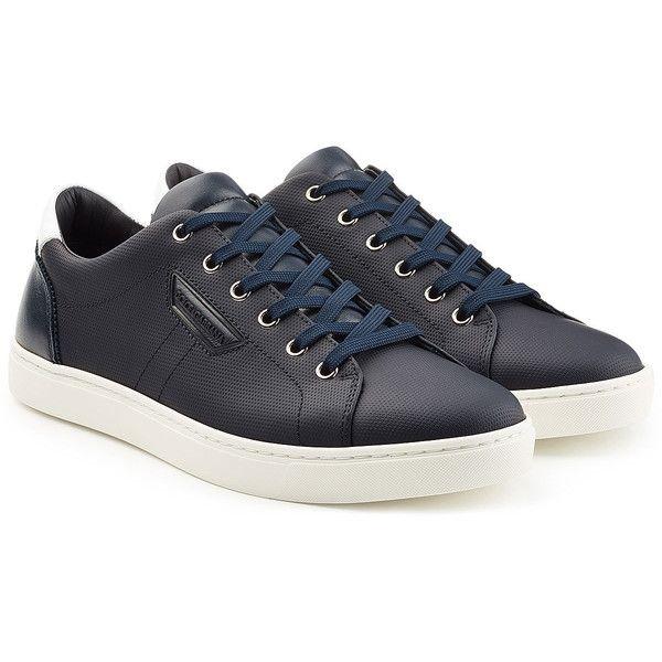 Dolce \u0026 Gabbana Leather Sneakers ($325