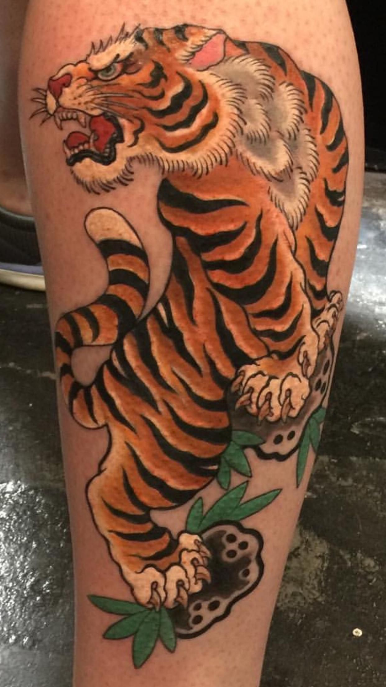 c4c59c06b Traditional Japanese Tiger by Ami James at Love Hate Social Club Manhattan  NY
