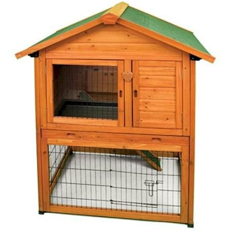 So cute! Premium Plus Bunny Barn - bunny can live in style! #bunny